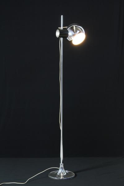 Lampada Da Terra Anni 70.Lampada Da Terra Cromo Anni 70 Illuminazione