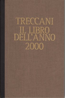 Treccani. The book of the year 2000