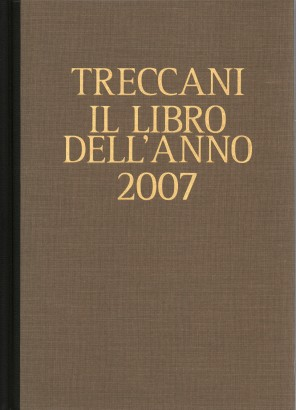 Treccani. The 2007 book of the year