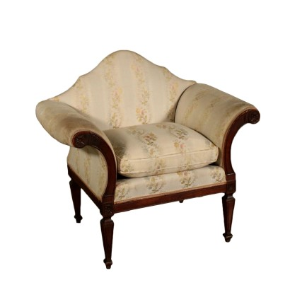 Neoclassical Armchair Cherry Italy Last Quarter of 1700s
