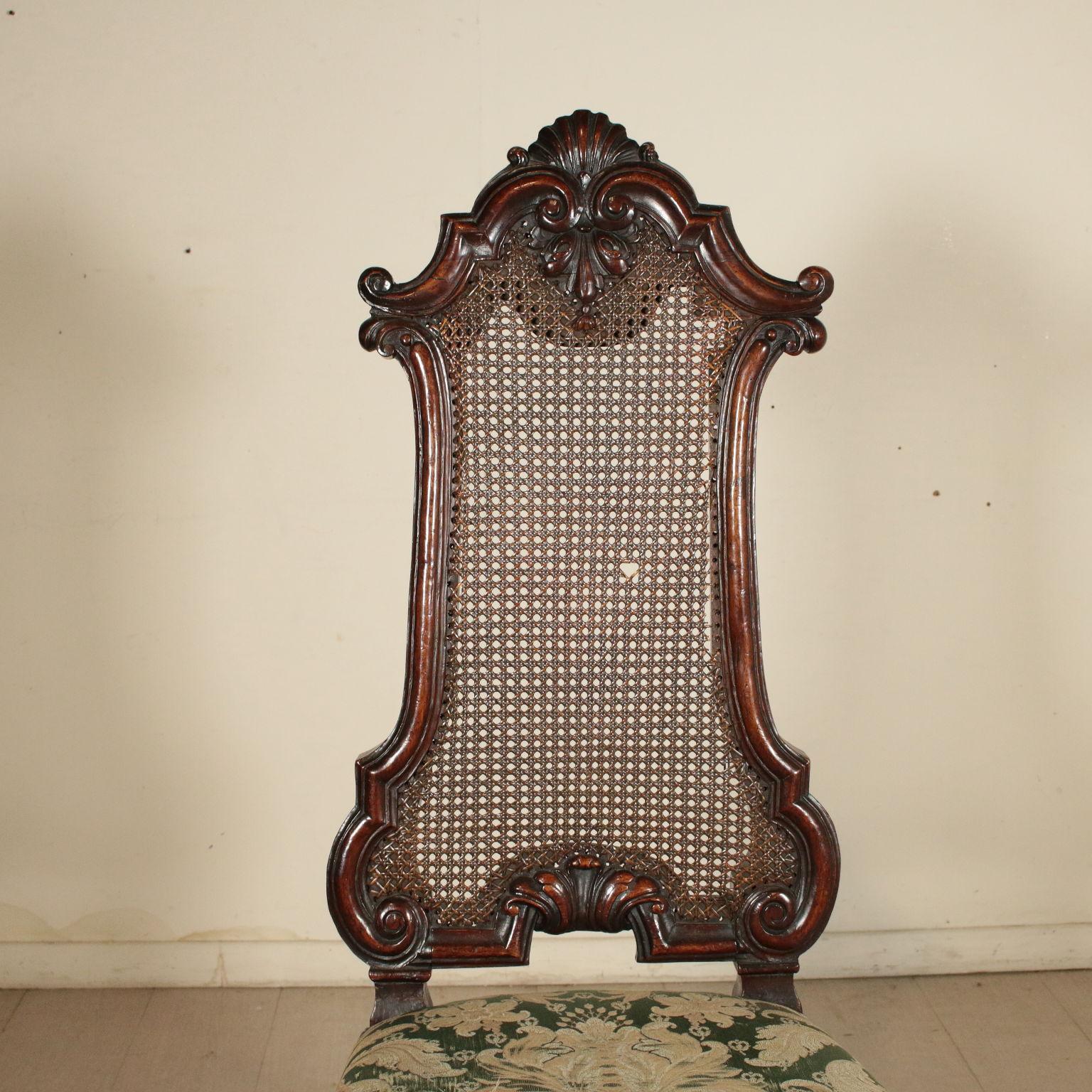 Sedia intagliata sedie poltrone divani antiquariato for Poltrone sedie