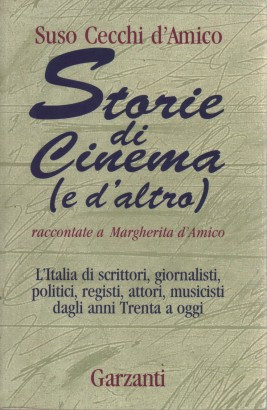 Stories of the cinema (and another). Told Margherita d'amico