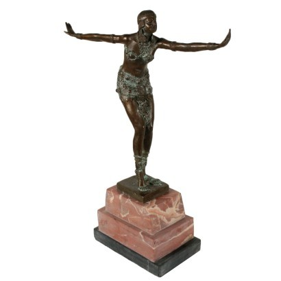 Phoenician Dancing Girl Copy from Demetre Haralamb Chiparus 1900s