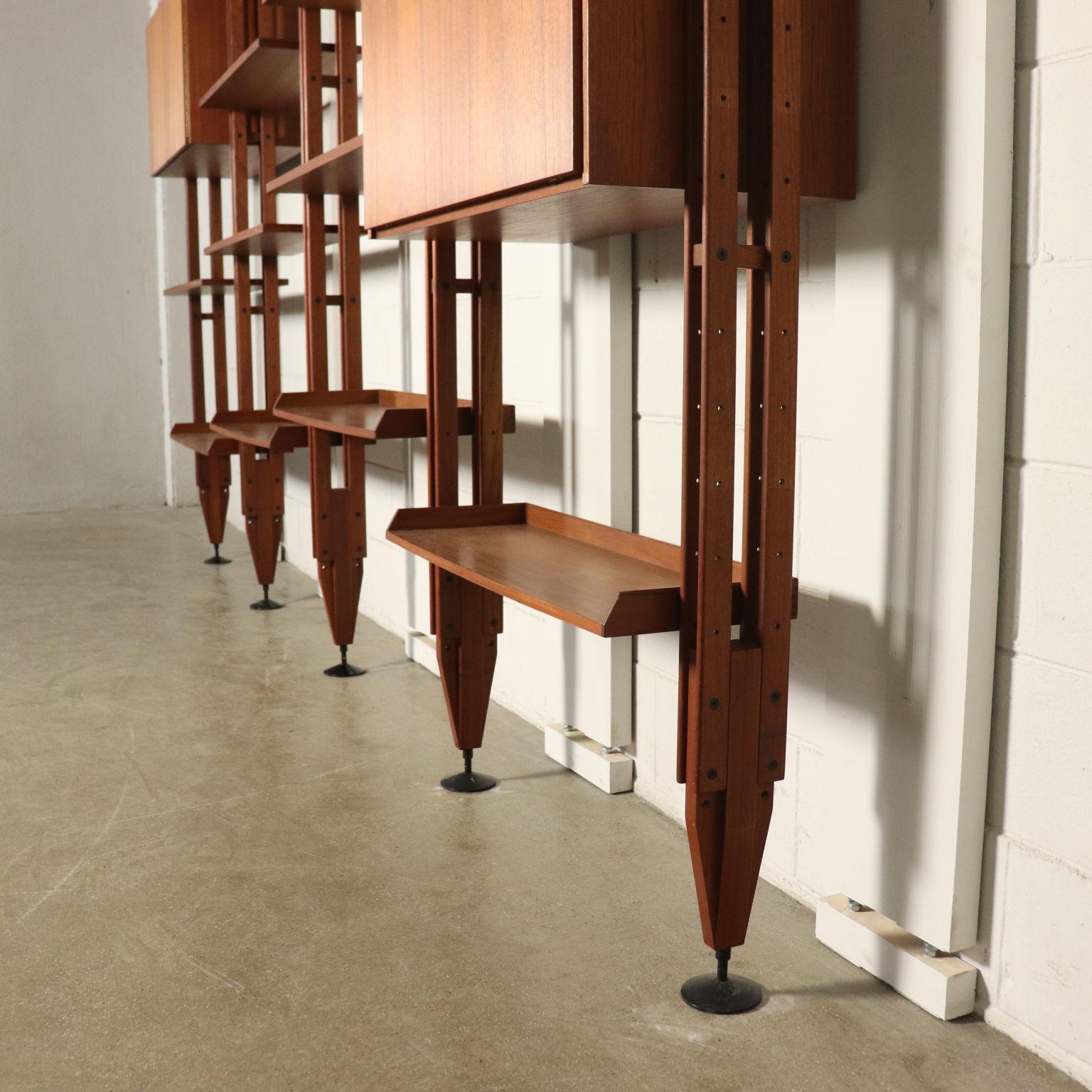 Bücherregal von Franco Albini Italienisches Design 60er ...