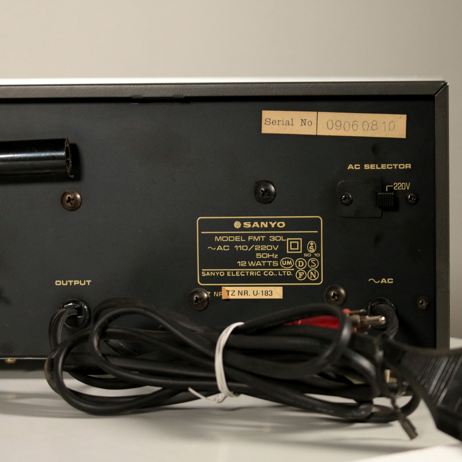 Sanyo Hi-Fi System Vintage Japan 1979 - Electronic - Modern