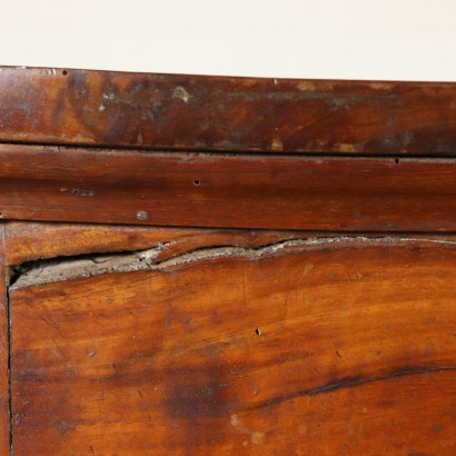 Chest of Drawers Solid Walnut Italy Early 1800s