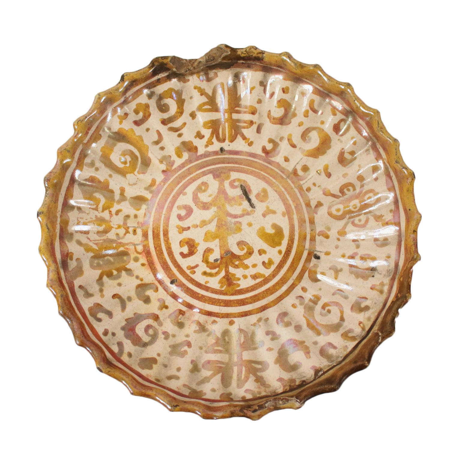 Alzatina o crespina deruta - Ceramiche - Antiquariato ...