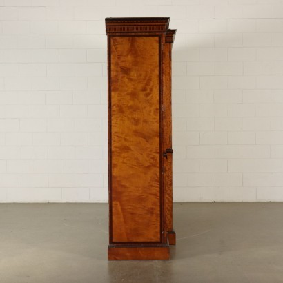 Impressive Painted Armoire England Mid 1800s