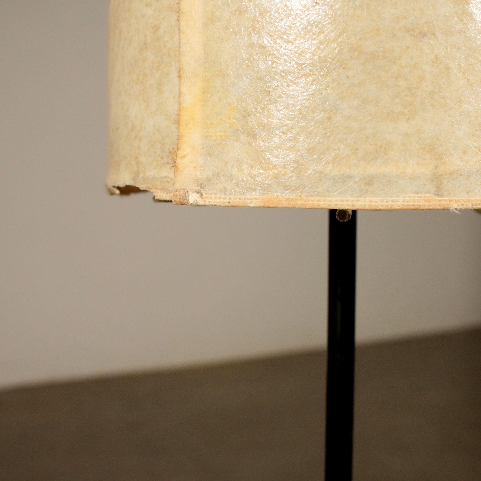 Stehlampe Metall Vintage Italien 60er 70er Jahre Beleuchtung