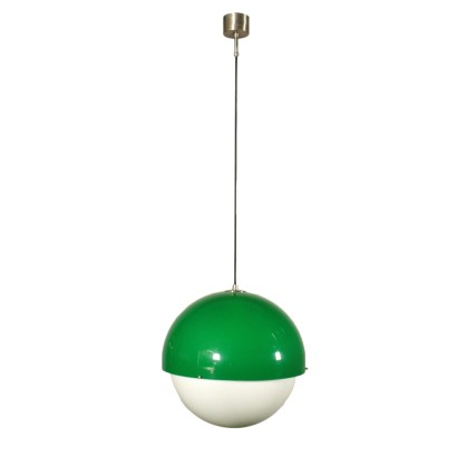 Ceiling Lamp Methacrylate Vintage Italy 1960s