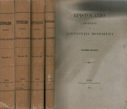 As letras-o asceta (4 volumes)