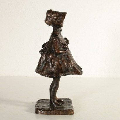 Young Girl Paul Troubetzkoy Bronze Sculpture 20th Century