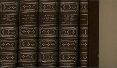 The plates of the Encyclopedie 1762-1777 (5 volumes)