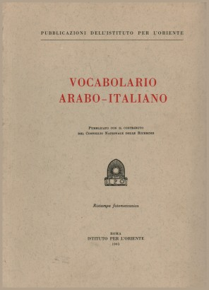 Vocabolario arabo-italiano