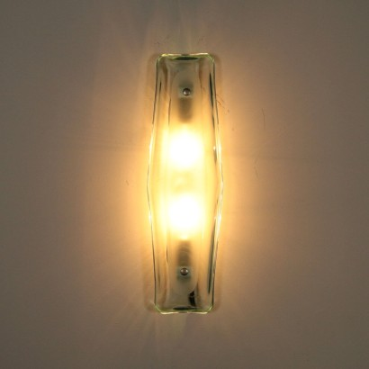 Vintage Glass Sconce Italy 1950s-1960s