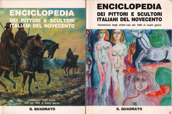 Encyclopedia of Italian painters and sculptors of the Twentieth century (2 Volumes)
