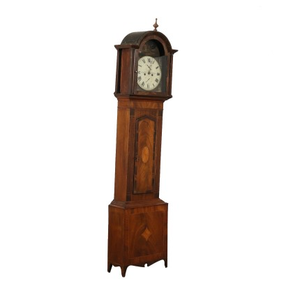 English Grandfather Clock Second Half of 1800s