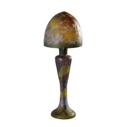 Table Lamp Galle Style France 20th Century