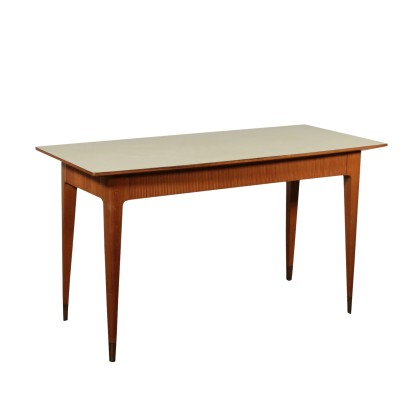 Table Beech Formica Vintage Italy 1950s