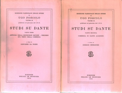 Studies on Dante (2 volumes)