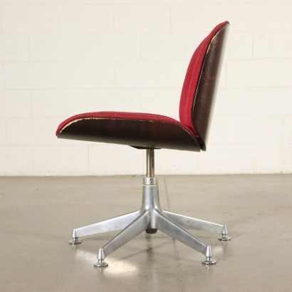 Office Swivel Chair by Ico Parisi Vintage Italy 1970s