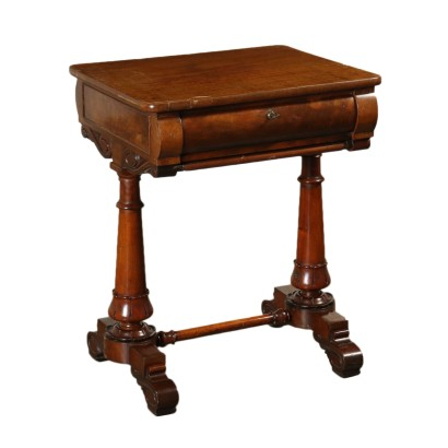 Game Table Mahogany Rosewood England Mid 1800s
