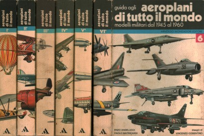 Guide agi airplanes all over the world (6 volumes)