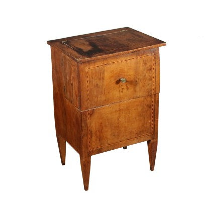 Neoclassical Commode Walnut Italy 18th Century