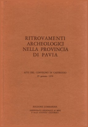 Archaeological finds in the province of Pavia