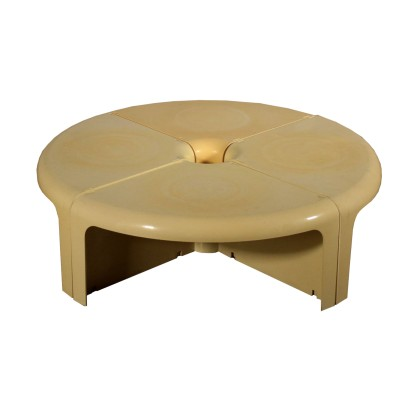 Coffee Table for Bernini Plastic Vintage Italy 1960s-1970s