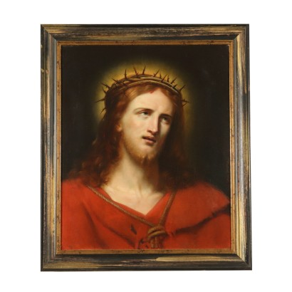 Joseph Chabord Ecce Homo Oil on Painting 1845