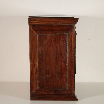 Walnut Coin Cabinet Italy First Half of 1800s