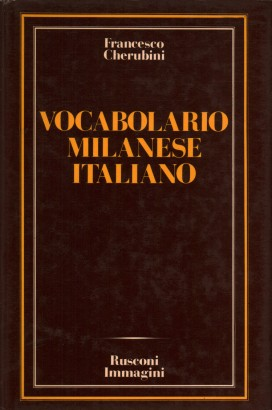 Vocabulario milanese-italiano