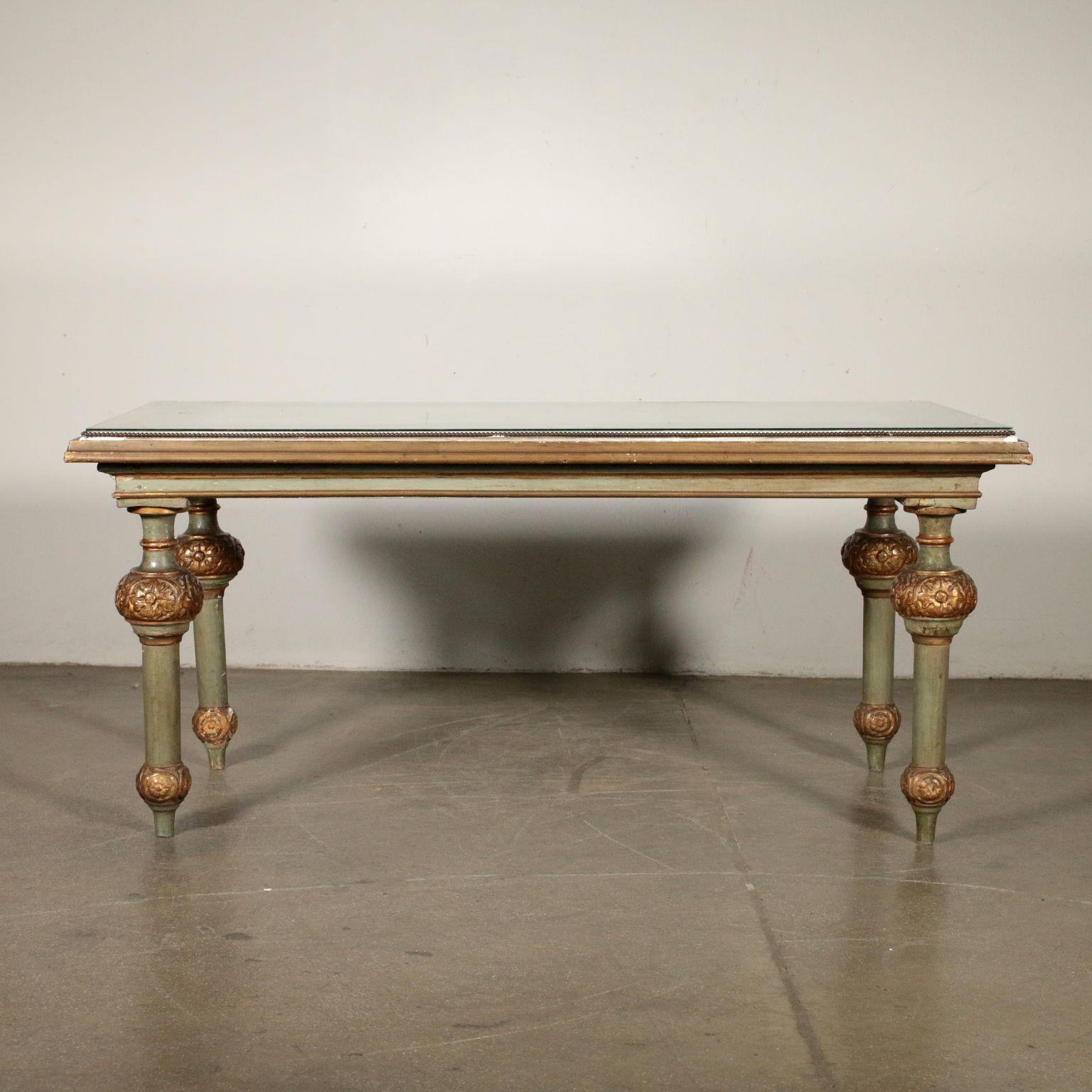 Tavolino Salotto Antiquariato.Tavolino Da Salotto Con Scagliola