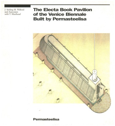 The Electa Book Pavilion of the Venice Biennale, Built by Permasteelisa