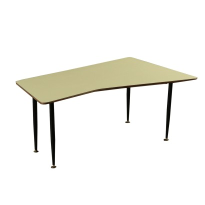 Coffee Table Metal Formica Vintage Italy 1960s