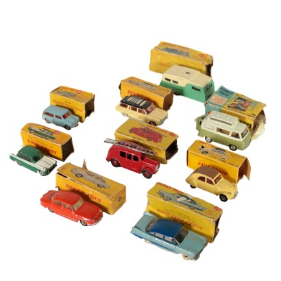 Dinky Toys Set Made in Liverpool England Vintage 1960s