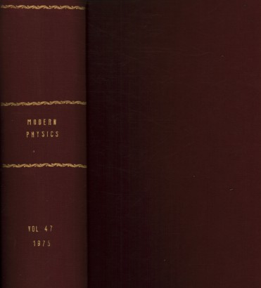 Reviews of Modern Physics, 1975. Volume 47, 1-4