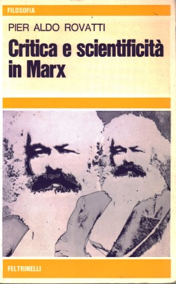 Critique et scientifique de Marx