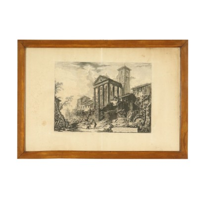 Acquaforte di Gianbattista Piranesi