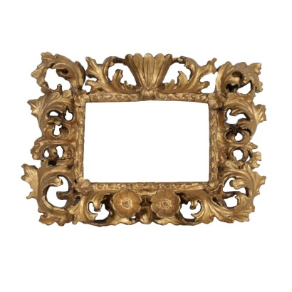 Baroque Gilded Frame Swiss Pine Italy 18th Century