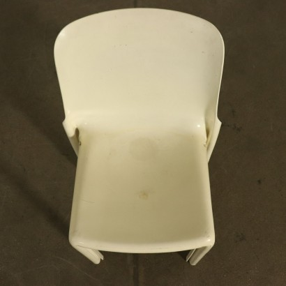 Set of Selene Chairs for Artemide Vintage Italy 1960s-1970s