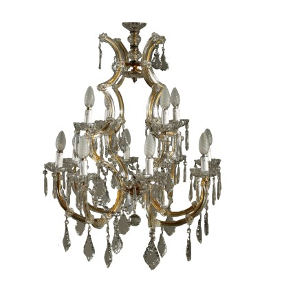Marie Therese Chandelier Crystal 19th-20th Century