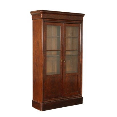 Glass Cabinet Mahogany France 19th Century