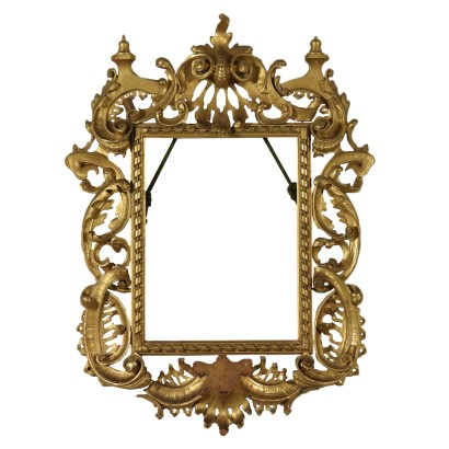 Carved Gilded Frame Italy 19th Century