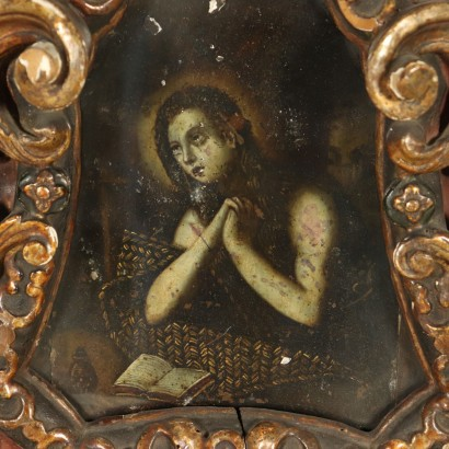 The Repentant Mary Magdalene Painting 18th Century