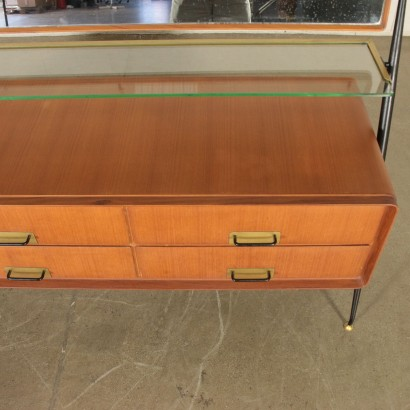 Chest of Drawers with tilting Mirror by Silvio Cavatorta 1960s