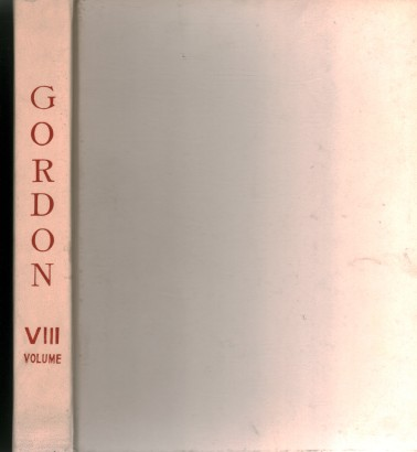 Gordon. Volume VIII