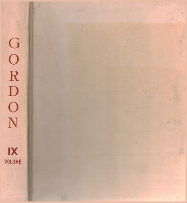 Gordon. Volume IX