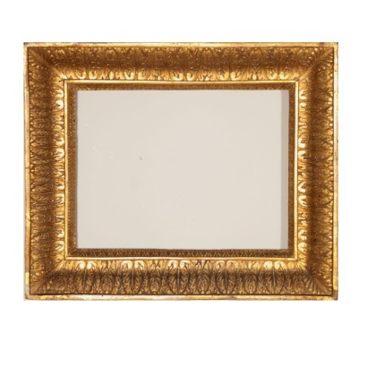 Refined Gilded Carved Frame Italy Late 18th Century